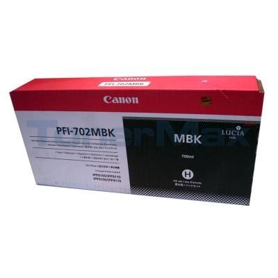 CANON PFI-702 INK TANK MATTE BLACK 700ML